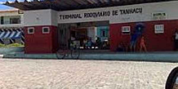 Tanha�u-BA-Terminal Rodovi�rio-Foto:lugaresquefazer.com