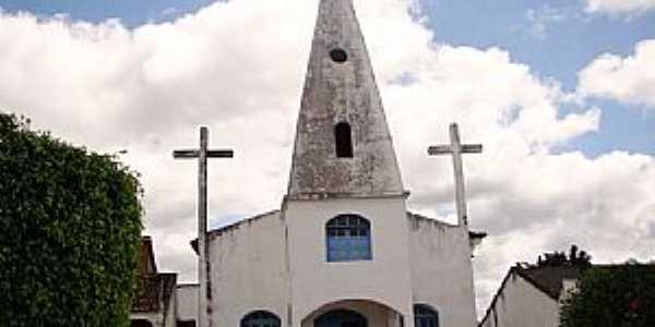 Tapiramut�-BA-Matriz de N.Sra.da Concei��o-Foto:Vicente A. Queiroz