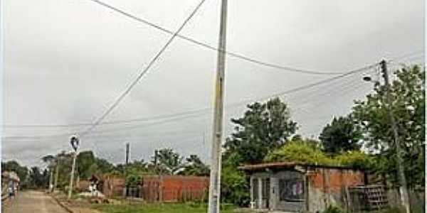 Tapúia-BA-Rua do distrito-Foto:prefeituradecamamu.com.br