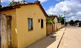 Taquarinha - Taquarinha-BA-Rua da cidade-Foto:www.mucuri.ba.gov.b