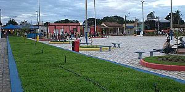 Taquarinha-BA-Nova praça e Palco para Eventos-Foto:rubemgama