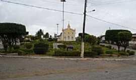 Tartaruga - Praça e Igreja-Foto:edvaldo lage