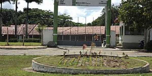 Teixeira de Freitas-BA-Entrada IF Baiano-Campus-Foto:fabianodourado