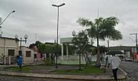 Limoeiro de Anadia - Coreto na Praça Principal em Limoeiro de Anádia-Foto:Sergio Falcetti