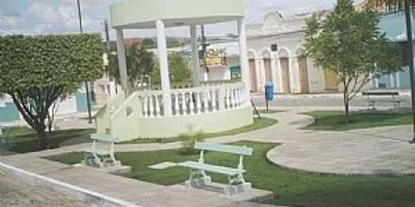 Limoeiro de Anadia-AL-Coreto na Praça da Matriz-Foto:HenriqueAlagoas