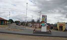 Tijuaçú - Entrada da cidade de Tijuaçu-Foto:Jorge Hirata