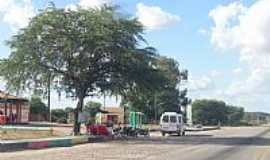 Tijuaçú - Tijuaçu-BA-Praça à beira da Rodovia BR-407-Foto:Jorge Hirata