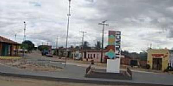 Entrada da cidade de Tijuaçu-Foto:Jorge Hirata