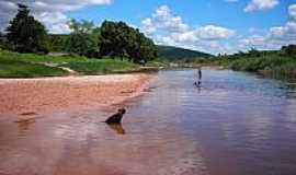 Triunfo do Sincorá - Rio Triunfo em Triunfo do Sincorá-BA-Foto:Flory.Filho