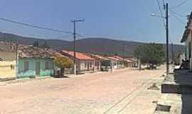 Triunfo do Sincorá - Rua de Triunfo do Sincorá-BA-Foto:Flory.Filho