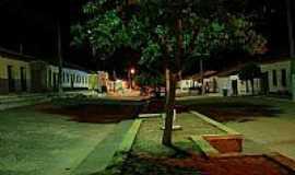Triunfo do Sincorá - Vista noturna de Triunfo do Sincorá-BA-Foto:Flory.Filho