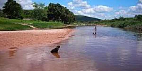 Rio Triunfo em Triunfo do Sincorá-BA-Foto:Flory.Filho