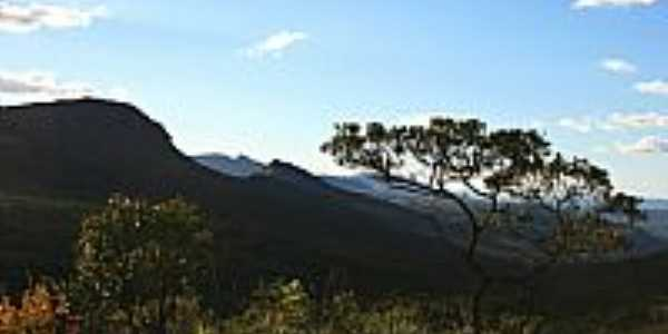 Vista da região de Triunfo do Sincorá-BA-Foto:JC MARINHO