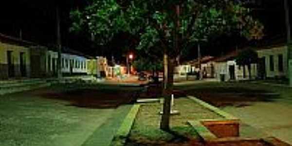 Vista noturna de Triunfo do Sincorá-BA-Foto:Flory.Filho