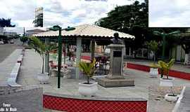 Tucano - Tucano-BA-Coreto na praça central-Foto:Cidades do Mundo