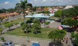 Tucano - Vista áerea da Praça Ana Oliveira de Caldas do Jorro-Tucano Bahia, Por Edson de Melo Costa