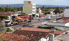 Tucano - Tucano-BA-Vista aérea do centro-Foto:omelhordomuitobom.