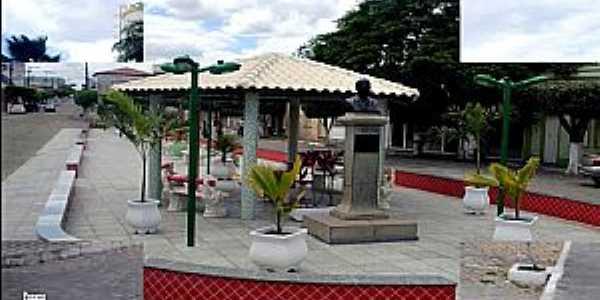 Tucano-BA-Coreto na praça central-Foto:Cidades do Mundo