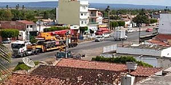 Tucano-BA-Vista aérea do centro-Foto:omelhordomuitobom.