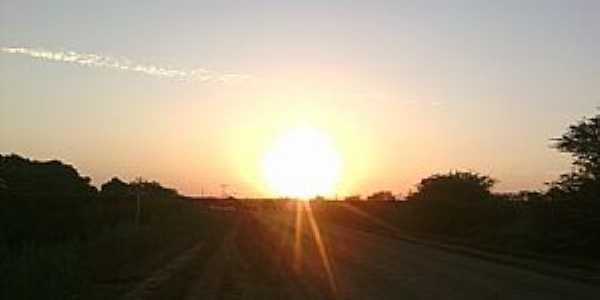 Uauá-BA-Nascer do sol no Povoado Caratacá-Foto:Adriano_Rodrigo