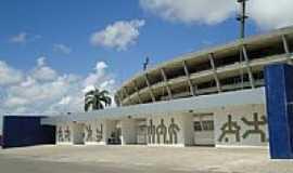 Maceió - Maceió-AL-Fachada do Estádio Rei Pelé-Trapichão-Foto:ToniCavalcante
