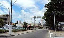 Maceió - Rua Prof.sandoval Arroxelas-Ponta Verde em Maceió-AL-Foto:Henrique de BORBA