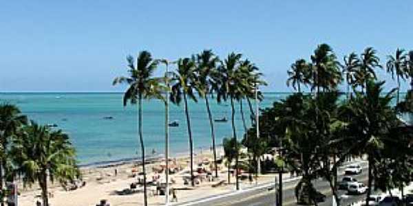 Maceió-AL-Praia de Maceió-Foto:alagoasqueamo