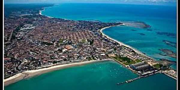 Maceió-AL-Vista aérea da cidade-Foto:alagoasqueamo