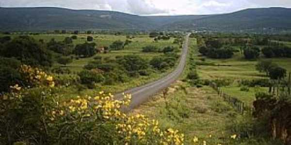 Uibaí-BA-Bela estrada da região-Foto:ueriston machado