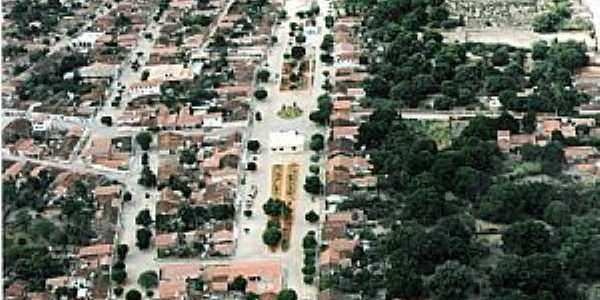 Uibaí-BA-Vista aérea da cidade-Foto:beto rocha