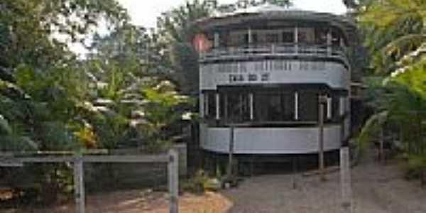 Casa de um pescador-Foto:JEZAFLU=ACRE=BRASIL