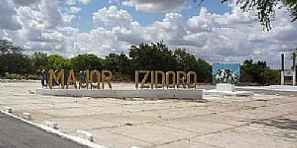 Major Izidoro-AL-Entrada da cidade-Foto:www.tribunadosertao.com.br