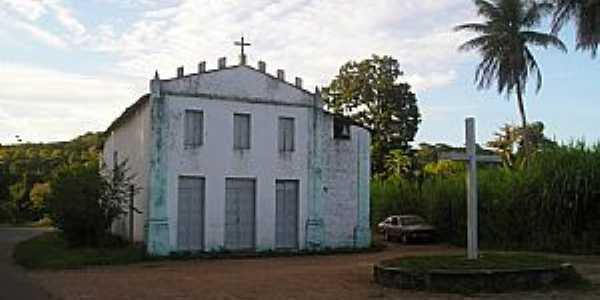 Valença-BA-Igreja de São Fidélis na estrada-Foto:Helio Queiroz Filho