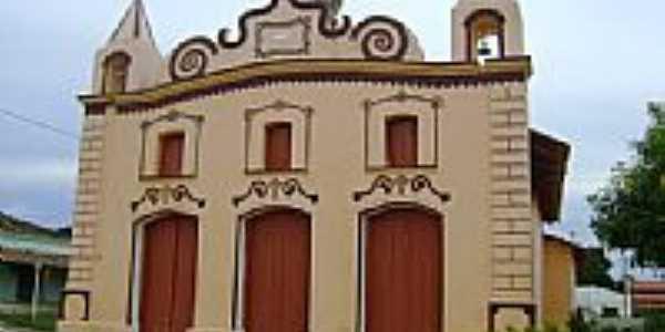Igreja no Distrito de Várzeas-BA-Foto:Geronildo SOUZA