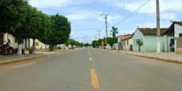 Rua Santo Antônio no Distrito de Várzeas-BA-Foto:Geronildo SOUZA