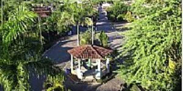 Vereda-BA-Coreto na Praça central-Foto:tcm.ba.gov.br