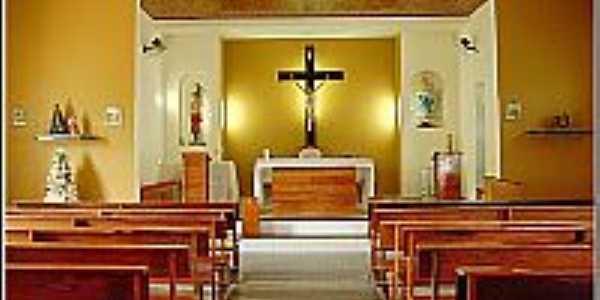 Vereda-BA-Interior da Paróquia de São Sebastião-Foto:paroquiavereda