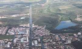 Vitória da Conquista - Vitória da Conquista-BA-Vista aérea da cidade e da Av.Olivia Flores-Foto:Marcelo S F