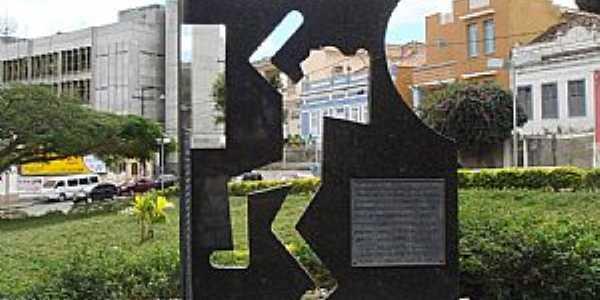 Vit�ria da Conquista-BA-Homenagem aos Mortos e Desaparecidos Pol�ticos em 1964-Foto:MARCELO S F