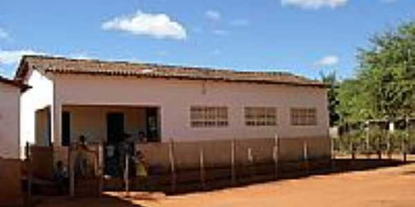Escola Municipal Castro Alves em Volta Grande-BA-Foto:Tarlis