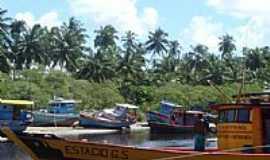 Maragogi - Maragogi-AL-Barcos pesqueiros-Foto:MARCELO S F