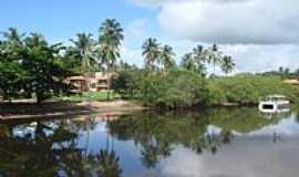 Maragogi - O rio e o hotel em Maragogi-Foto:Miraflores 10