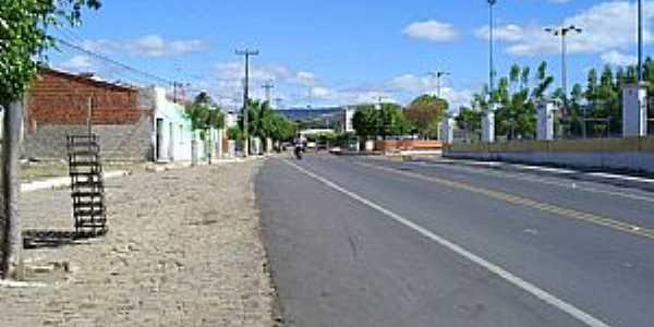 Abaiara-CE-Avenida Principal-Foto:professor_pepe