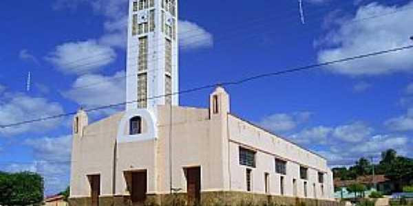 Abaiara-CE-Paróquia do Sagrado Coração de Maria-Foto:professor_pepe
