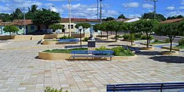 Abaiara-CE-Praça central-Foto:professor_pepe