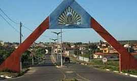 Acopiara - Acopiara-CE-Pórtico de entrada da cidade-Foto:pt.db-city.com