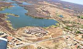 Acopiara - Acopiara-CE-Vista aérea da Barragem-Foto:Valdécio Pinheiro