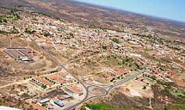 Acopiara - Acopiara-CE-Vista aérea da Rotatória e a cidade-Foto:Valdécio Pinheiro