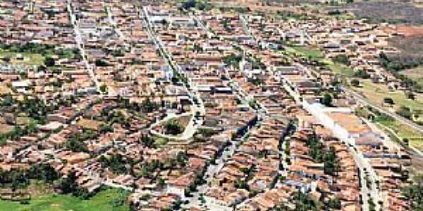 Acopiara-CE-Vista aérea da cidade-Foto:Valdécio Pinheiro