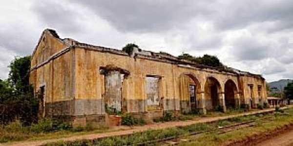 Água Verde-CE-Antiga Estação Ferroviária-Foto:ARAGÃO